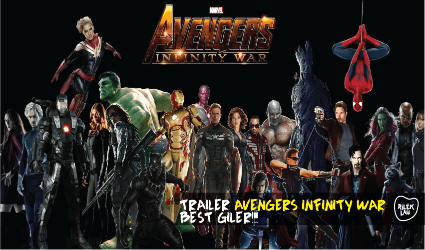 Trailer Rasmi Pertama 'Avengers: Infinity War' Dah Keluar ...