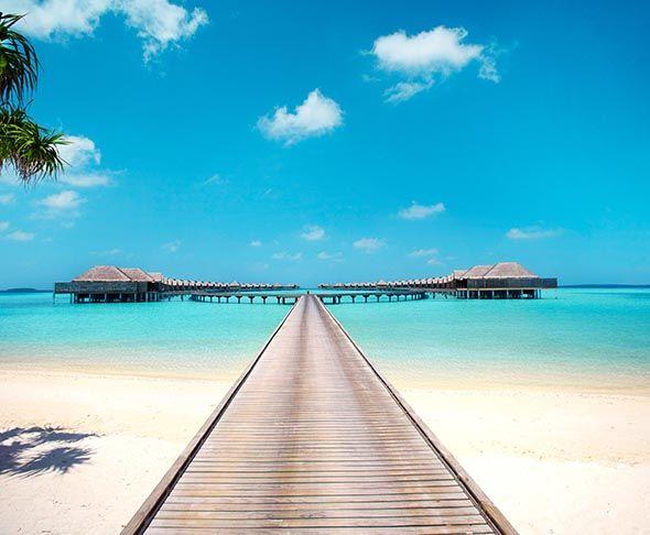 Jom Tengok Kecantikan Anantara Kihavah Villa Resort Paling