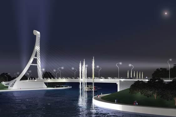 jambatan ikonik di Tasik Kenyir